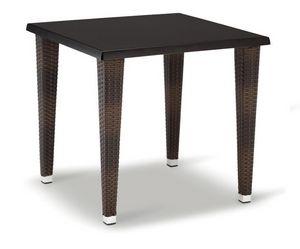 FT 2026, Base pour table, aluminium tressé, avec 4 pieds