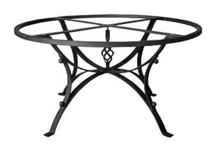 Hydra, Base de table en fer décoré