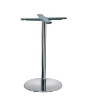 Indoor base cod. I40C, Base de la table, la colonne de métal, pour Restaurant