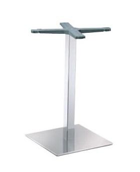 Indoor base cod. I40x40C, Base métallique de la table, pour les pubs et les bars