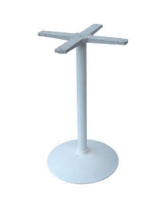 Round base cod. BRCV, Base de métal pour table de bar, en métal peint
