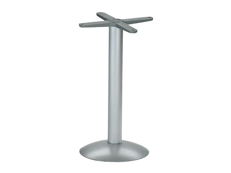 Round base h 115 cod. BTAK, Base ronde pour la table de métal, croix pliable