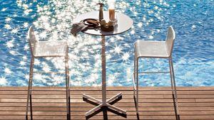 Summer set base 3, Base pour table de bar, en forme de croix, pour l'extérieur
