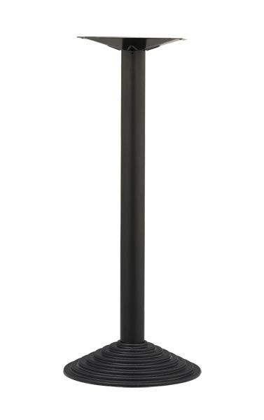 TG04 H110, Base de métal de haute pour la table, pour bars et restaurants