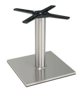 TG21 H.46, Base en aluminium pour table basse, formes linéaires, pour salons de crème glacée et de cafés