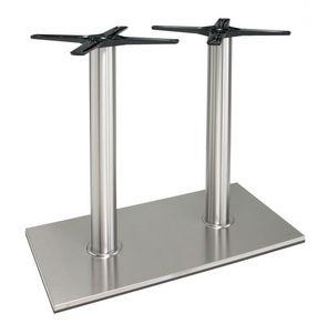 TG22, Base en aluminium pour la table, à double colonne