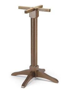 T/V02 H108, Base en bois pour table