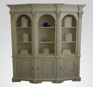 3550 BIBLIOTHEQUE, Bibliothèque en bois de luxe, pour classique salon