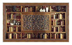 4039, Bibliothèque classique avec meuble TV