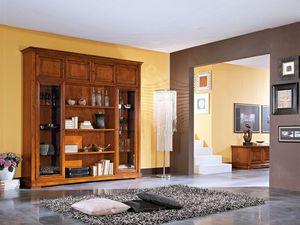 Art.102/L, Buffet de style classique en bois, pour les salons et les cuisines