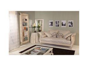 Art 3132 Arianna, Décoré bibliothèque de hêtre pour les maisons de luxe classiques