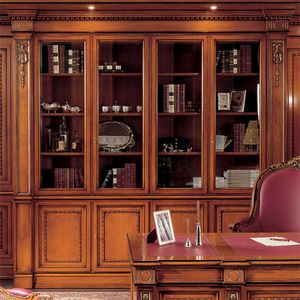 Bibliothèque 1910, Bibliothèque de style classique pour le bureau