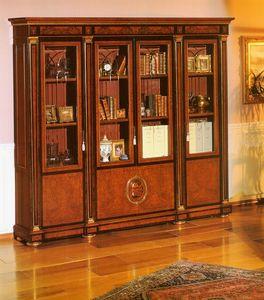 IMPERO / HOME OFFICE Bookcase, Bibliothèque classique et élégant pour studio professionnel