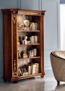 Modigliani bibliothèque 2 portes, Bibliothèque inspirée du style empire
