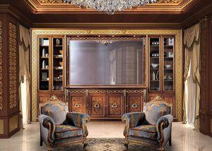 Paradise C/518/2, Bibliothèque de style
