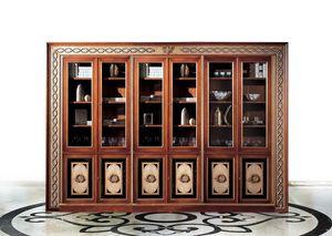 Paradise C/518, Bibliothèque classique avec 6 portes