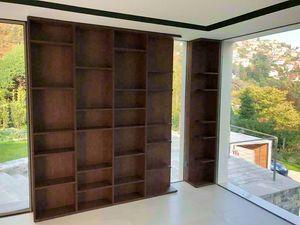 Art. A04, Bibliothèque en bois moderne