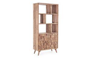 Bibliothèque 2A Kant, Bibliothèque avec portes en nid d'abeille