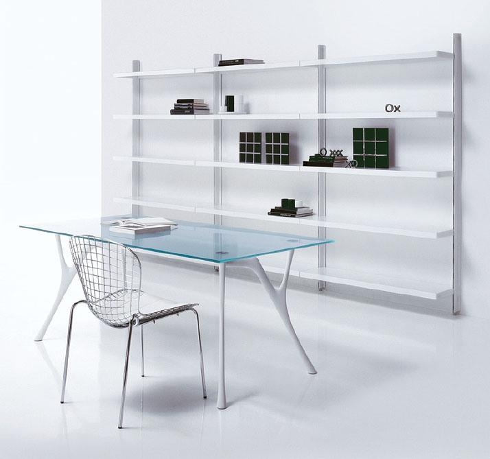Big floor, Cabinet avec des étagères, pour des séjours dans un style moderne