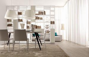 Citylife 22, Double face bibliothèque, pour les salons et les salles à manger