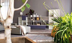 Citylife 31, Bibliothèque modulaire adapté pour les salles de vie modernes