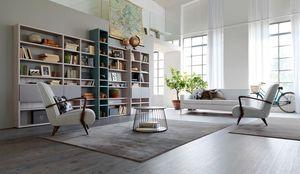 Citylife 35, Librairie modulaire adaptée pour les environnements résidentiels