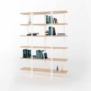 Dalton, Bibliothèque modulaire avec structure en fer