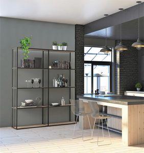 dl400 modus, Bibliothèques modulables en aluminium