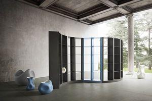 Doda, Bibliothèque modulaire en métal
