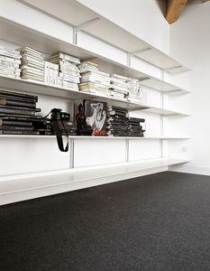 Dot System, Bibliothèque design modulaire en aluminium durable