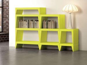 Herbert, Bibliothèque modulaire idéal pour les salles de vie modernes