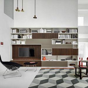 Modo M5C52, Bibliothèque avec meuble TV