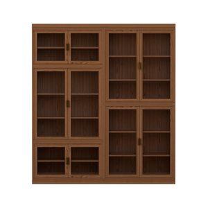 Novecento FS3314322, Bibliothèque modulable en bois