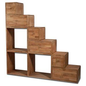 Scala Yen, Bibliothèque compacte utilisable comme escalier