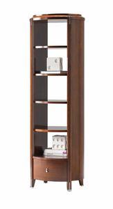 Vendome etagere, Etagere en bois avec tiroir