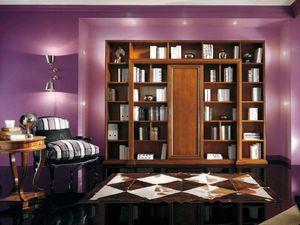 Vivre Lux Bibliothèque, Bibliothèque classique, avec des décorations personnalisées