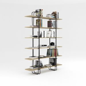 Ypsilon, Bibliothèque avec structure en fer