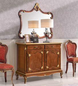 Art. 3026, Buffet en bois avec 2 tiroirs et 2 portes