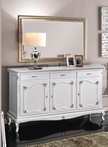 Art. 3160, Buffet laqu� blanc