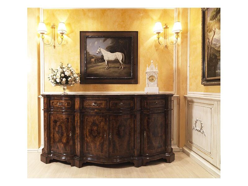 Lombarda sideboard 866, Armoire pour la salle à manger, style classique