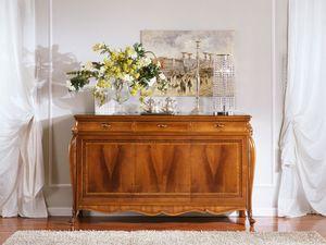 OLIMPIA B / Sideboard with 3 doors, Buffet de style de luxe avec 3 portes, pour Salotti