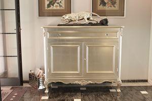 Regina armoire haute, Armoire à tiroirs et portes