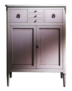 VS.4438, Noyer Buffet avec 5 tiroirs et 2 portes, pour les environnements classiques de luxe