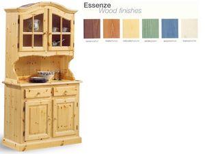 VAD/2, Sideboard dans le style rustique, en bois, pour le salon