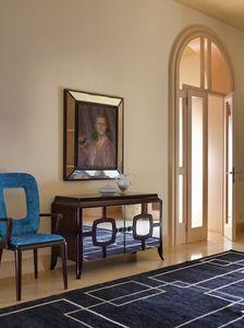Art. VL117, Buffet en bois avec portes miroir