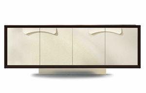 Astor, Buffet avec portes en cuir