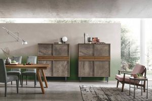 ASTRA MA114, Armoire de salon, avec portes et tiroirs