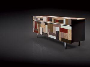 ATHENA 2.3  PW90 LA-BLACK, 4 portes Buffet, finitions de grande valeur, idéal pour un usage résidentiel