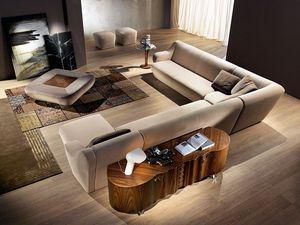 CR51 buffet, Noyer Buffet idéal pour les environnements résidentiels