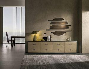 CR61 Desyo Lux buffet, Buffet inférieur pour salon